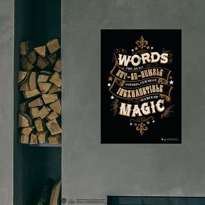 Wizarding World Poster Model : Magic Words Tipgrafik